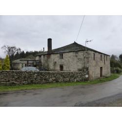 casa de Piedra semi-restaurada
